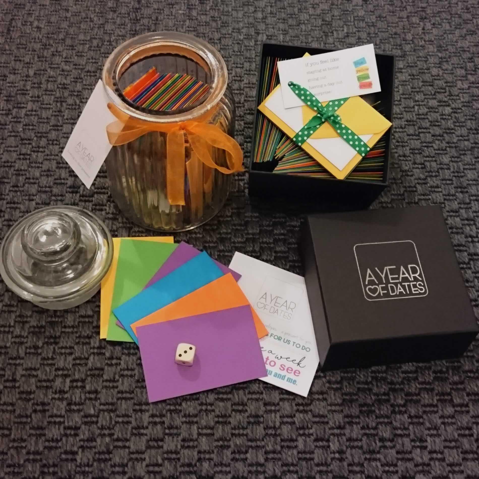 date jar date box