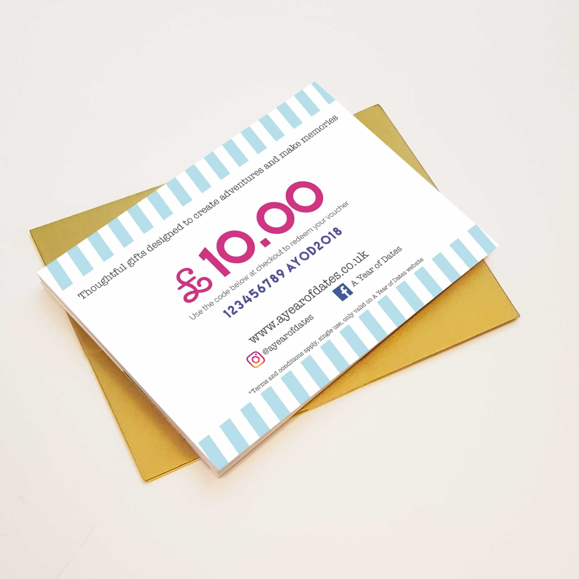 Gift Voucher A Year Of Dates