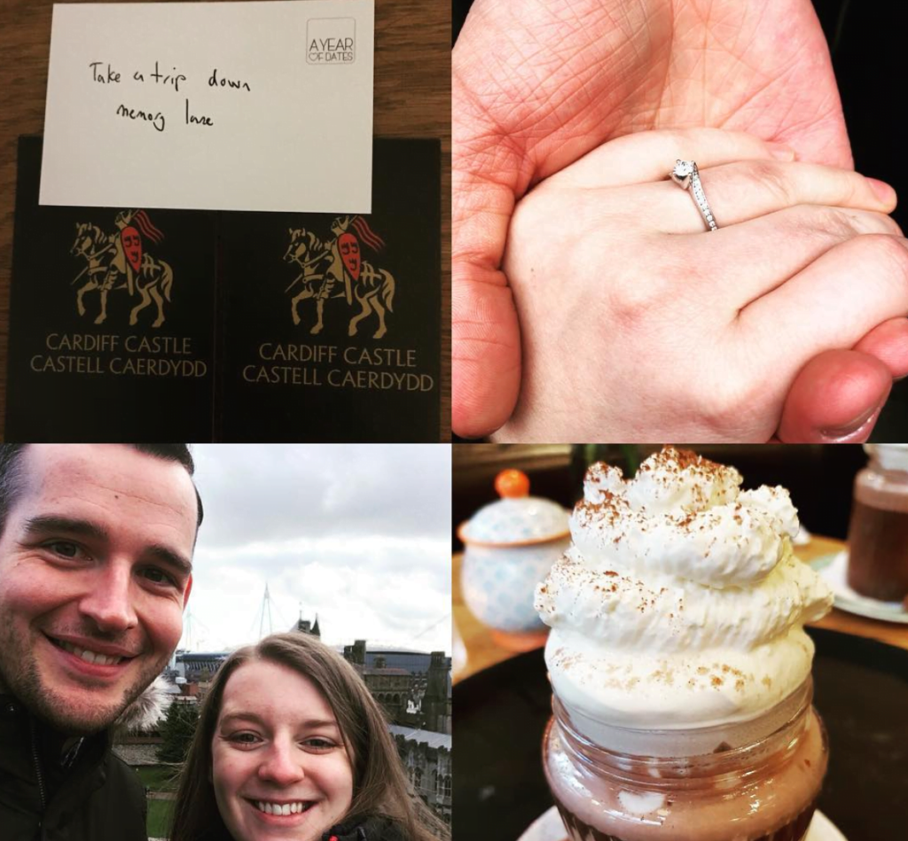When a date card leads to 'I do'