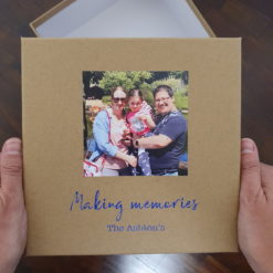 A year of dates photo memory box