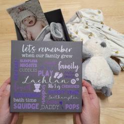 New Baby Memory box